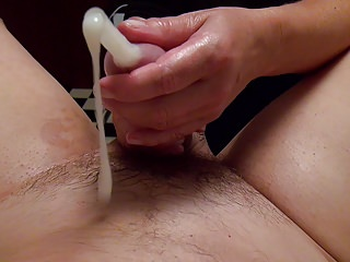 Huge cumshot, double fisting, golden shower, foot fetish
